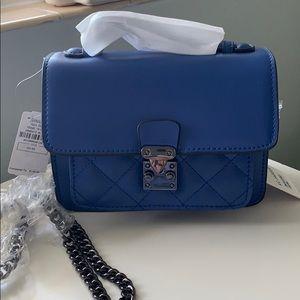 Handbags - KC Jagger Pocket Leather Quilt Purse